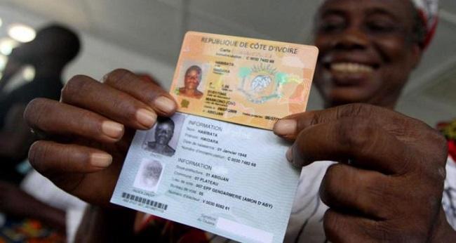 étrangers,pièce d'identité ivoirienne