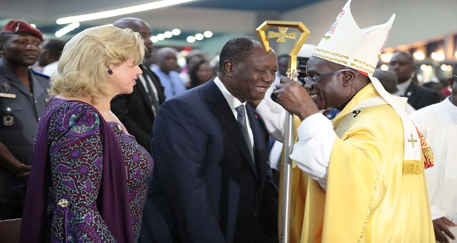 rencontre des évêques ivoiriens avec le président Ouattara