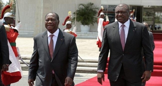 président Ouattara, sur le tapis rouge