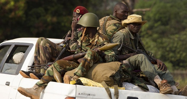 miliciens de la Centrafrique