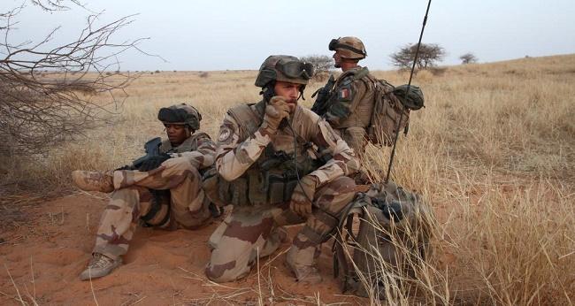 les forces de Barkhane au Mali