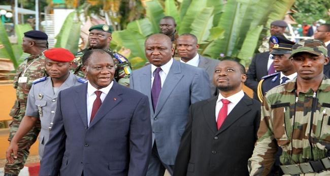 conflit entre ouattara et soro