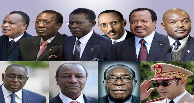 mandat, image des chefs d'état africain, constitutions