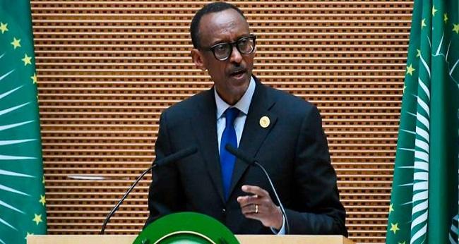Paul Kagame aux camerounais