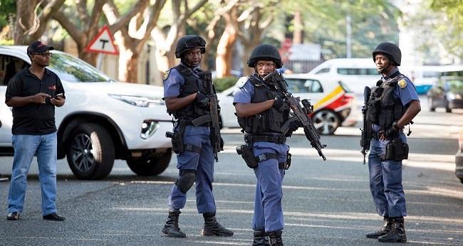 Violence sur la population en Afrique du Sud