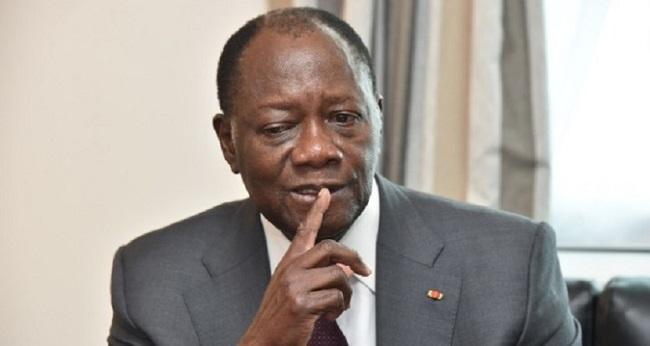 Le président Dramane Ouattara face au virus corona
