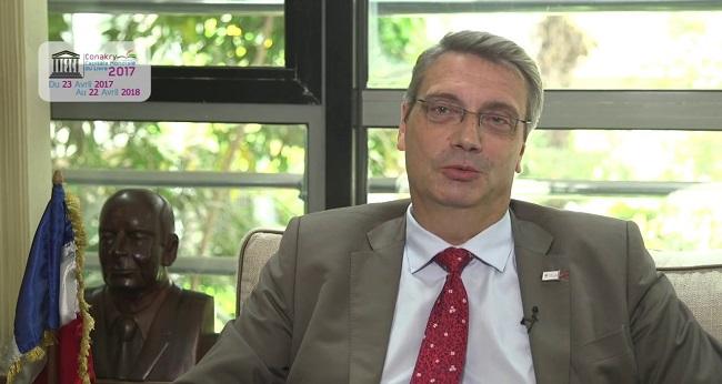 Grosgurin, ambassadeur de France convoqué par la Guinée