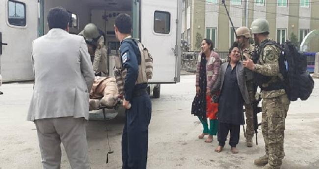 série d'attaques meurtrières à Kaboul