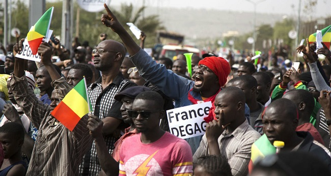 manifestation gigantesque au Mali