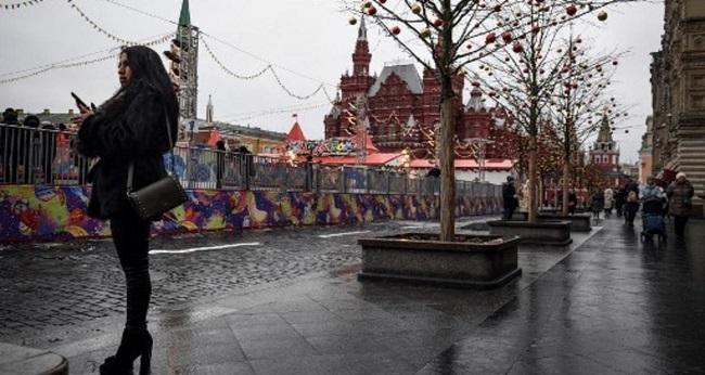 Début du confinement à Moscou