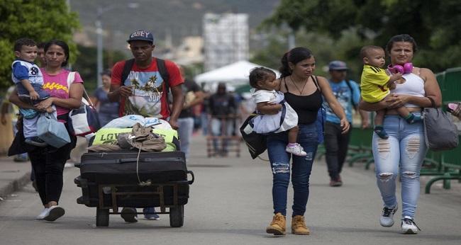 Retour au Venezuela des réfugiés