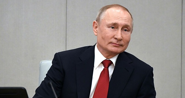 Vladimir Poutine, président de la Russie