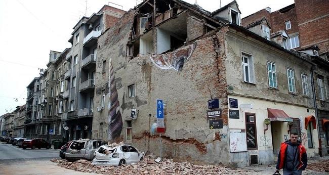Zagreb, capitale de la croatie après le séisme