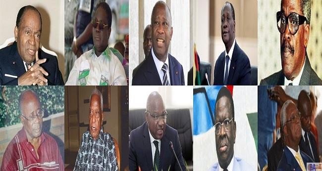 les politiques ivoiriens, photogrid