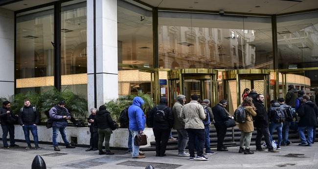 Ouverture des banques en Argentine