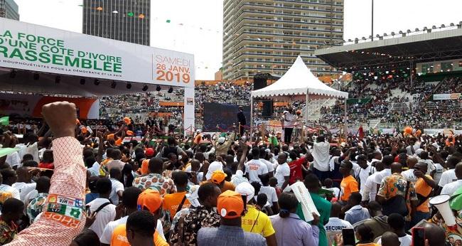 société civile, rassemblement des jeunes