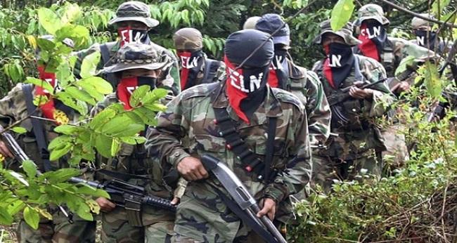 soldats de l'ELN
