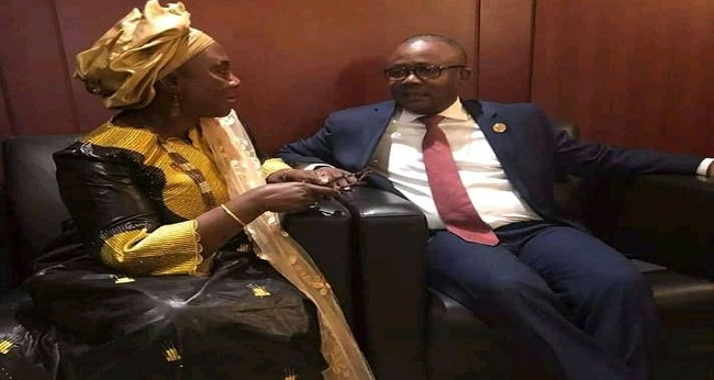 Umaro Embalo au sommet de l'union africaine