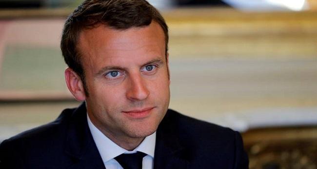 le président français, emmanuel macron