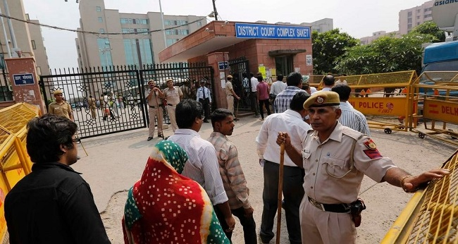 Condamnation à New Delhi