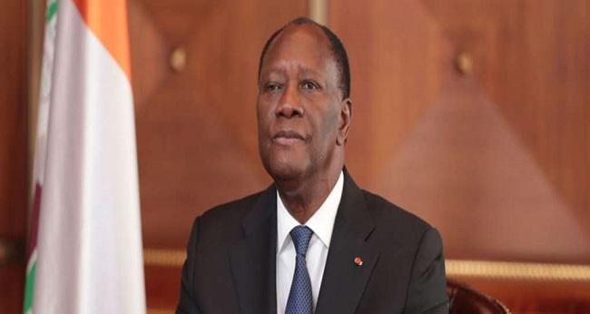 le président Ouattara, le regard vers le futur