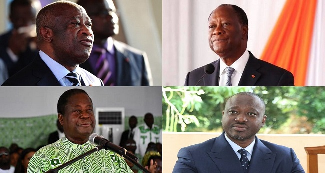 les leaders de partis politiques