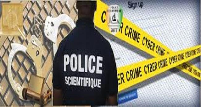 cybercriminalité, image de la police scientifique