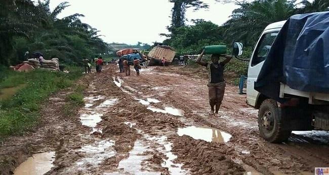 axe Abidjan-San Pedro, rempli de boue