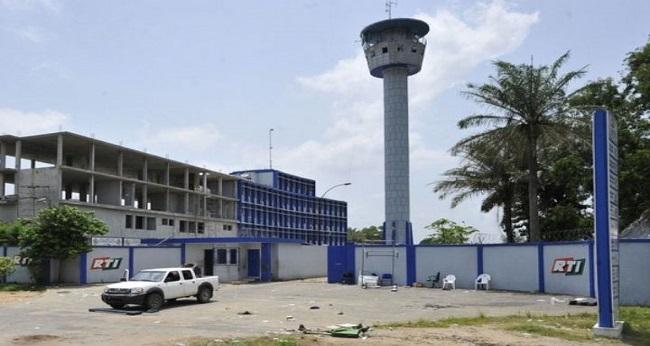 la RTI à Abidjan Côte d'Ivoire