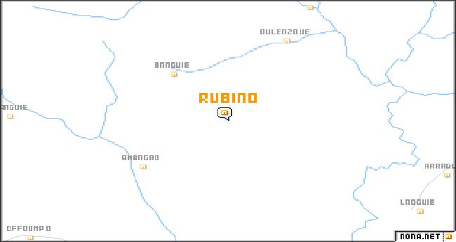 rubino, image satellitaire