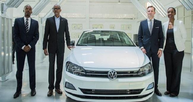 rwanda, premier véhicule